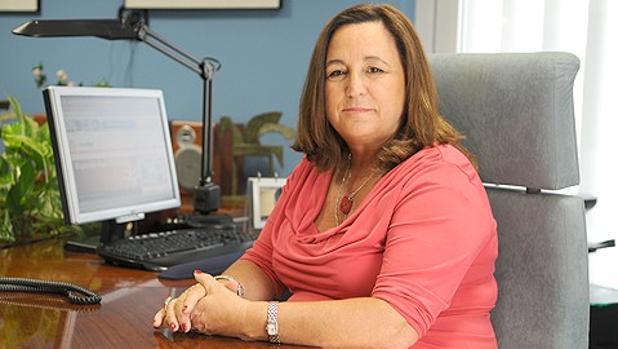 Inés Alba en su despacho