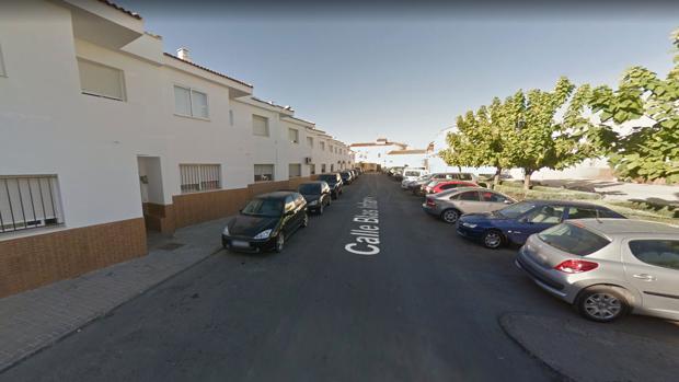 La calle Blas Infante de Beas, donde se produjeron los hechos