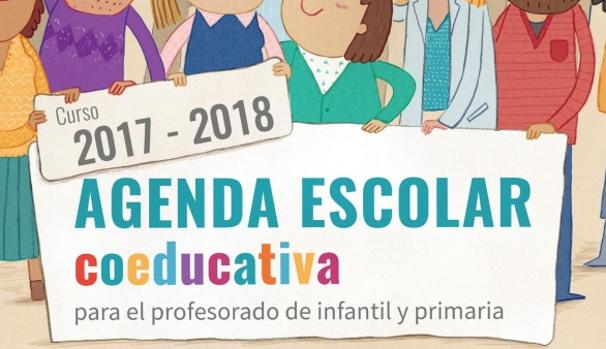 Portada de la agenda escolar de la Consejería de Educación