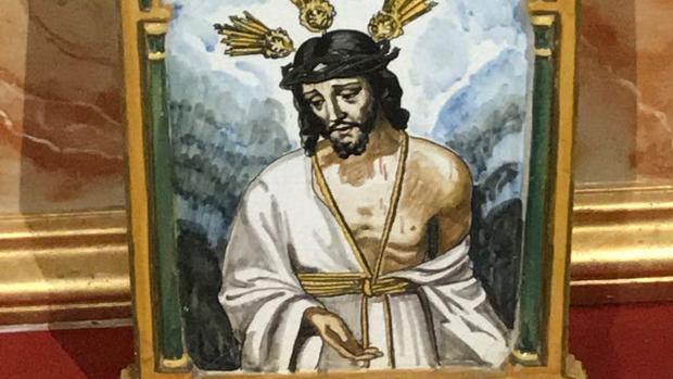 Azulejo que perteneció a Martínez Cerrillo
