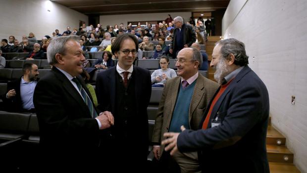 Conferencia de Félix Arnold, del Instituto Arqueológico Alemán