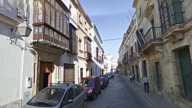 Calle Caballeros de Jerez de la Frontera