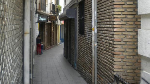 Calle Valdés Leal, que une San Felipe con la plaza Emilio Luque