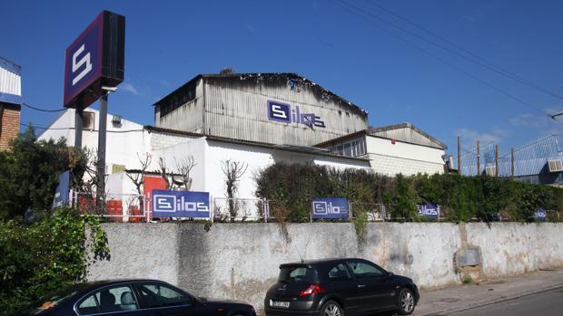 La antigua discoteca Silos después del incendio