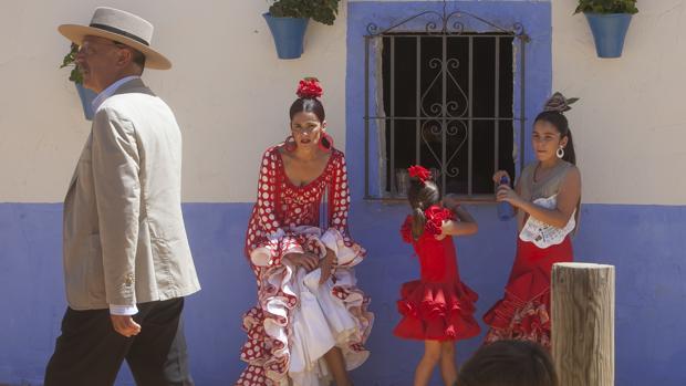 Ambiente en la Feria de Nuestra Señora de la Salud de Córdoba