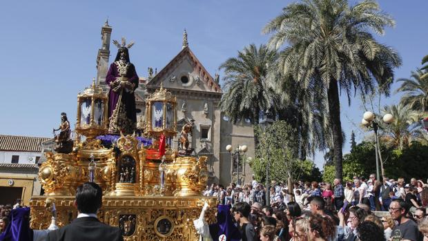 Nuestro Padre Jesús Nazareno Rescatado, el pasado Domingo de Ramos