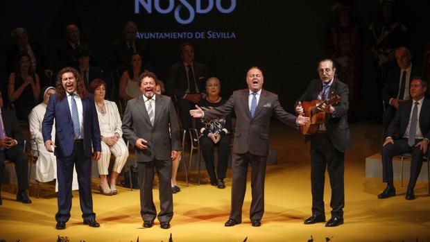 Cantores de Híspalis, durante un concierto reciente