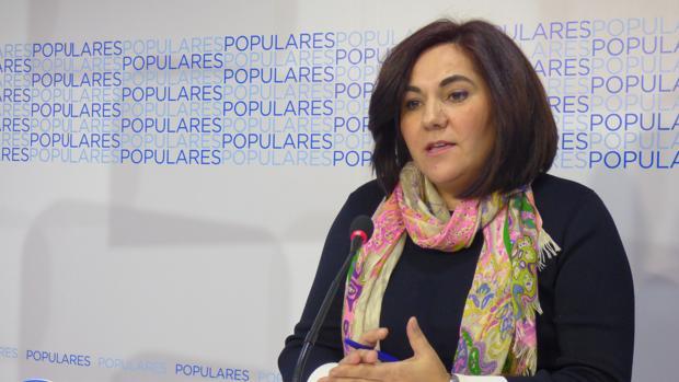 La diputada autonómica del PP María de la O Redondo