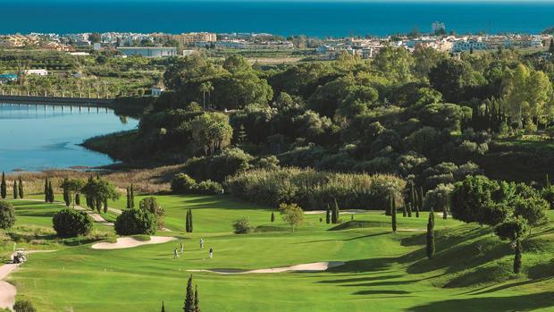 Campo de golf en la Costa del Sol