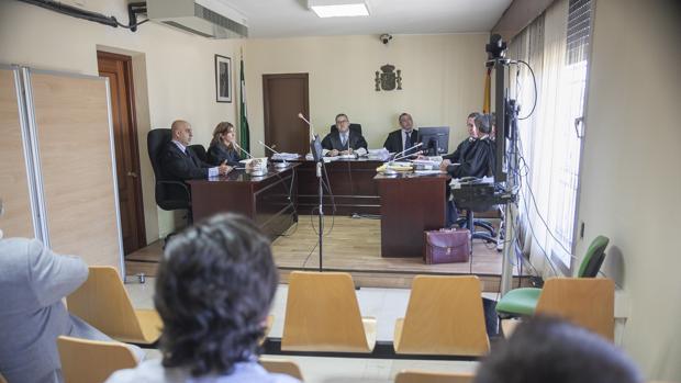 Imagen de uno de los juicios celebrados a «Pacurri», en junio de 2016