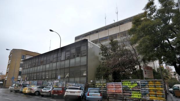 Antigua jefatura de Policía de la plaza de la Gavidia en Sevilla
