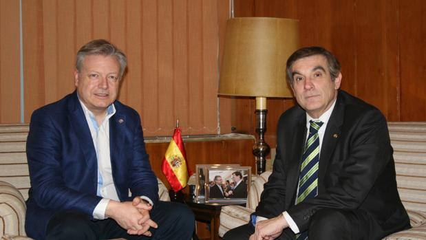 Francisco Gómez Sanmiguel y Juan José Primo Jurado