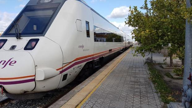 El tren afectado ha sido un Media Distancia