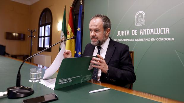 Francisco de Paula Algar, delegado de Medio Ambiente de la Junta de Andalucía en Córdoba