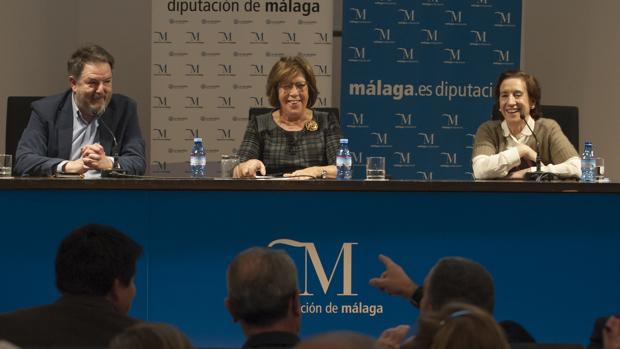 Bieito Rubido, Curri Valenzuela y Victoria Prego