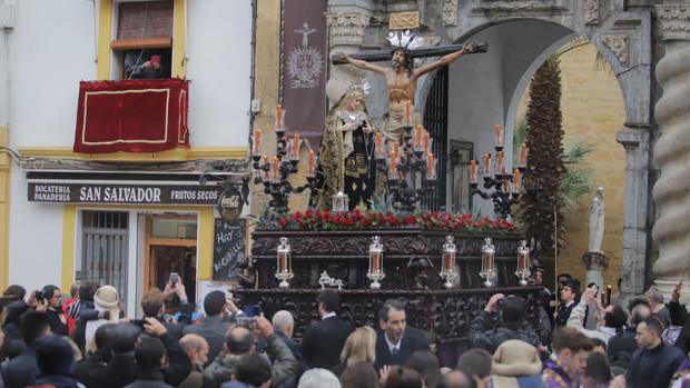 Salida del Cristo de la Expiración de San Pablo este domingo