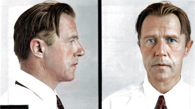 Ficha de Alvin Francis Karpowizc, Alvin Karpis, de los archivos de la cárcel de Alcatraz