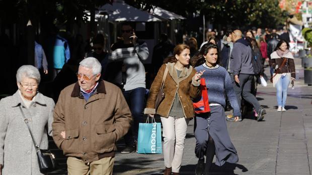 Calle Cruz Conde en Córdoba