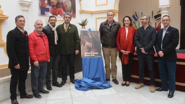 Acto de presentación del cartel de la Semana Santa de Baena