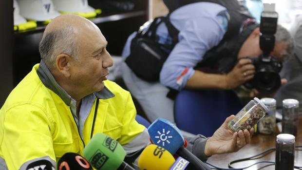 El director de Cementos Cosmos en Córdoba, José de la Vega