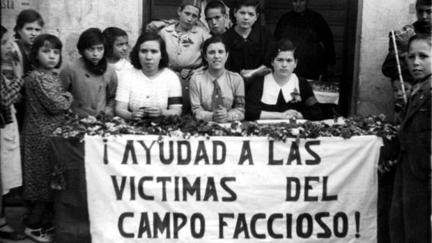 Cuestación del Socorro Rojo Internacional en Jaén durante la Guerra civil