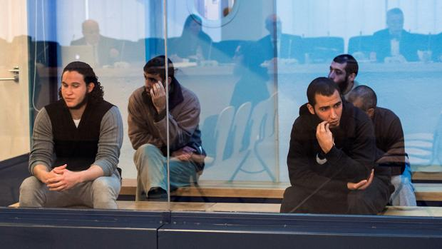 Integrantes de la célula yihadista que se juzga en la Audiencia Nacional