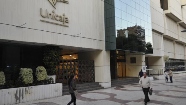 Sede principal de Unicaja Banco en Málaga