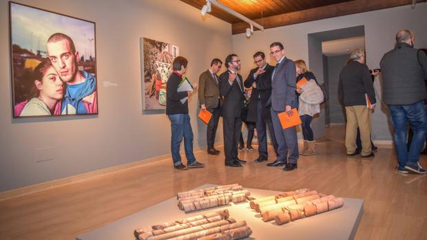 Apertura de la exposición en el Museo Joaquín Peinado de Ronda