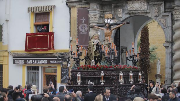 El Santísimo Cristo de la Expiración, el pasado domingo