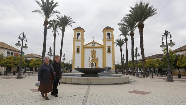 La plaza de Cañero, una de las zonas señaladas