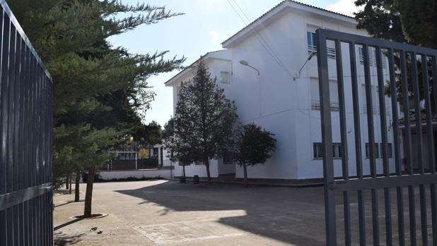 Entrada del centro escolar donde se produjeron los hechos