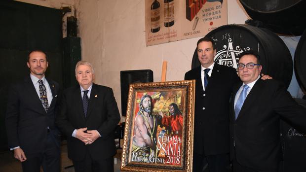 Presentación del cartel de Javier Aguilar