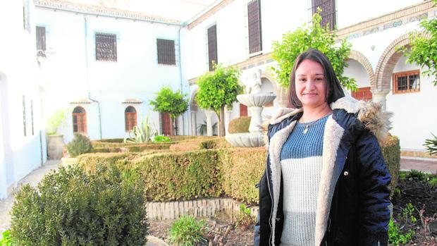 Damicela Galifi en el convento Madre de Dios de Baena