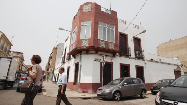 Casas del barrio de Huerta de la Reina en Córdoba capital