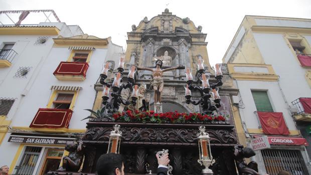El Cristo de la Expiración sale de San Pablo