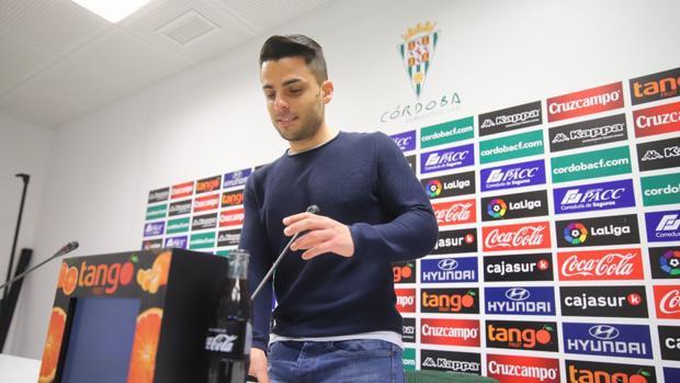 Jorge Romero, en su despedida como entrenador del Córdoba CF