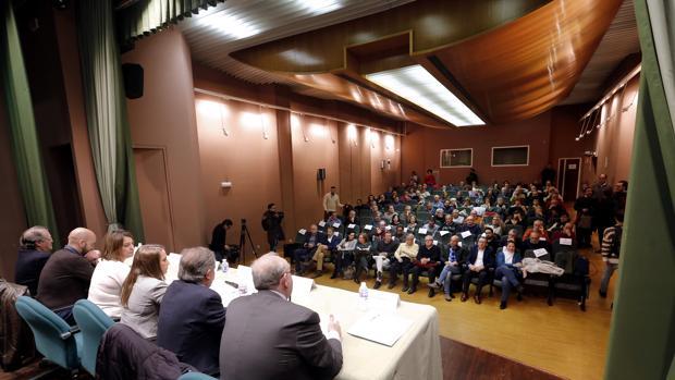 Un momento de la mesa redonda sobre la Ley de Memoria Democrática