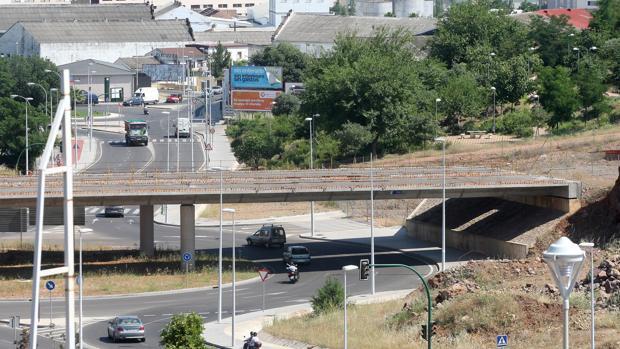 Imagen de la inacabada Ronda Norte de Córdoba