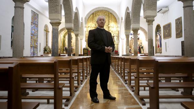 Pedro Soldado, en su parroquia de San José y Espíritu Santo
