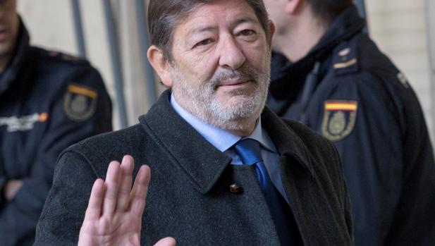 Guerrero en una de las sesiones del juicio a los ERE que se celebra en Sevilla