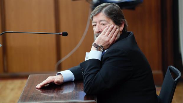 Francisco Javier Guerrero, en el juicio del caso ERE en la Audiencia Provincial de Sevilla