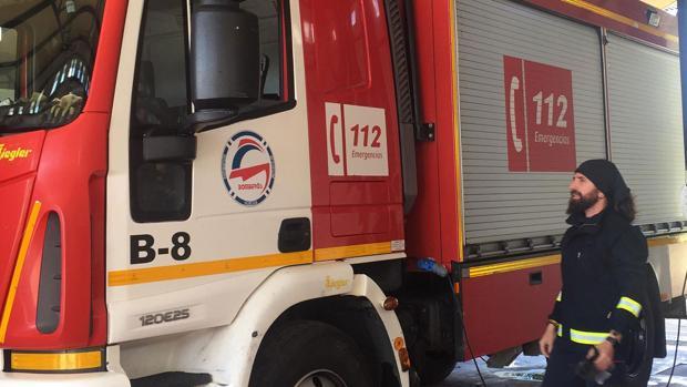 El bombero expedientado por difundir el vídeo-denuncia