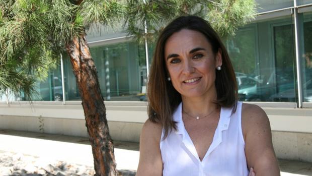 La investigadora del Grupo Dinámica Fluvial e Hidrología María José Polo