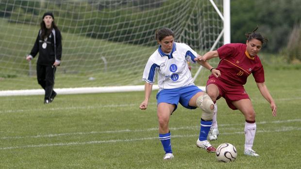 Una jugadora de la UCO en una imagen de otro curso académico