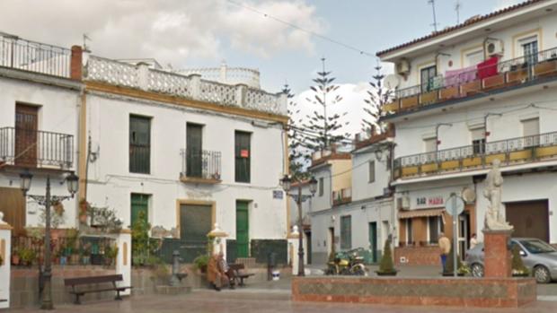 Plaza del Calvario de Benamocarra