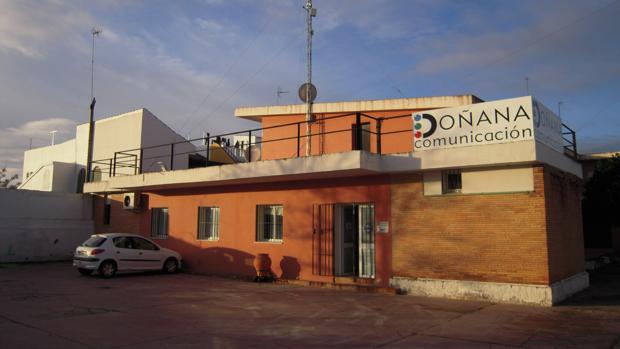 Estudios de la televisión local almonteña