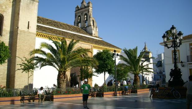Plaza del Ayuntamiento de Hinojos, Huelva