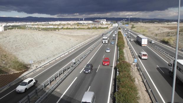 Tramo de la autovía en la que la nueva salida tratará de reducir los atascos