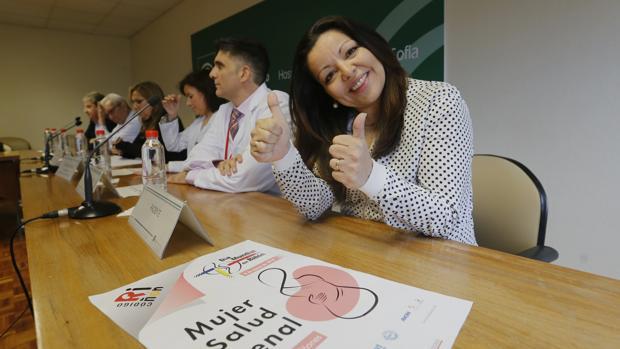 Rocío Cobos ha superado su enfermedad renal tras un trasplante y hasta ha podido ser madre