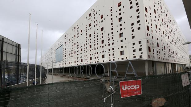 Centro de Convenciones de Córdoba, con las obras sin terminar